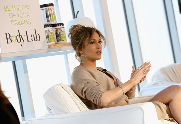 Jennifer Lopez at the launch of BodyLab