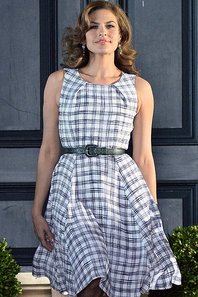 INF - Eva mendes Does a photoshoot in New York City