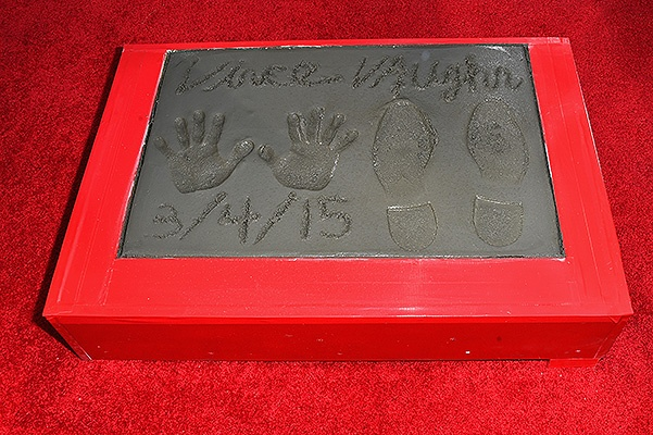 Vince Vaughn Immortalized With Hand And Footprint Ceremony