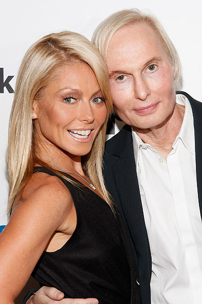 Kelly Ripa Co-Hosts Dr. Fredric Brandt's SiriusXM Launch Event