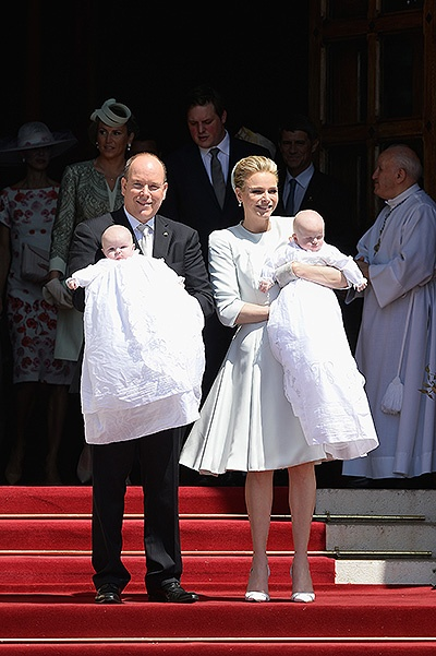 Baptism Of The Princely Children at The Monaco Cathedral