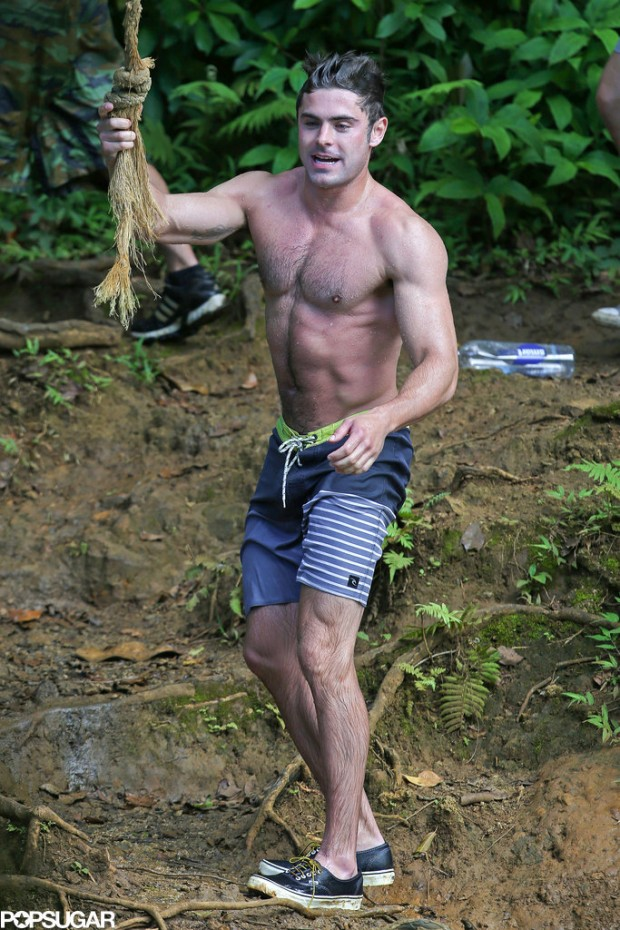 Shirtless-Zac-Efron-Rope-Swing