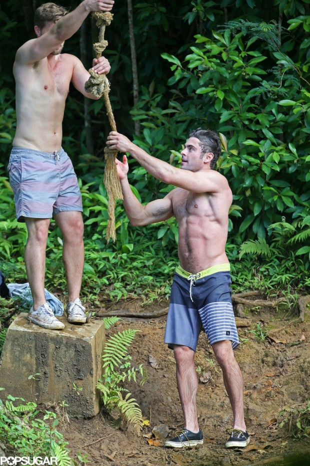 Shirtless-Zac-Efron-Rope-Swing (7)