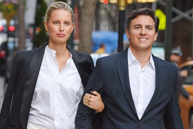 Karolina Kurkova seen out with her film producer husband Archie Drury in NYC
