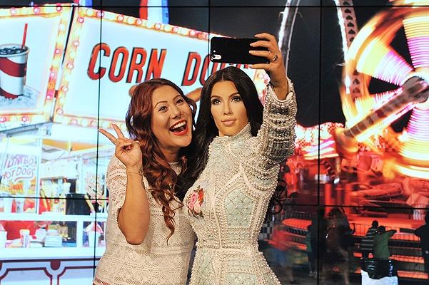 В Музее мадам Тюссо появится фигура Ким Кардашьян картинки