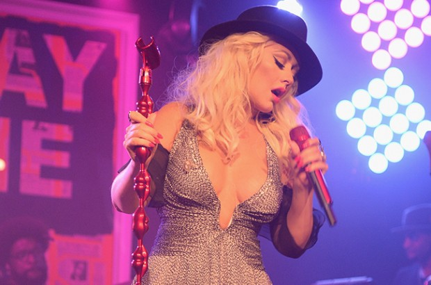 EAST HAMPTON, NY - AUGUST 15:  Christina Aguilera performs at Apollo in the Hamptons 2015 at The Creeks on August 15, 2015 in East Hampton, New York.  (Photo by Kevin Mazur/Getty Images  for The Apollo)