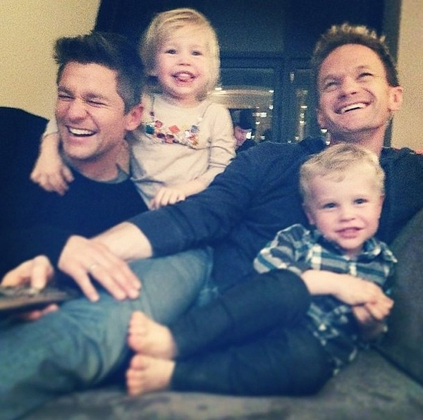 Neil-Patrick-Harris-shared-laugh-his-family