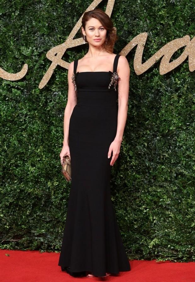 The British Fashion Awards 2015 - Arrivals Featuring: Olga Kurylenko Where: London, United Kingdom When: 23 Nov 2015 Credit: Lia Toby/WENN.com