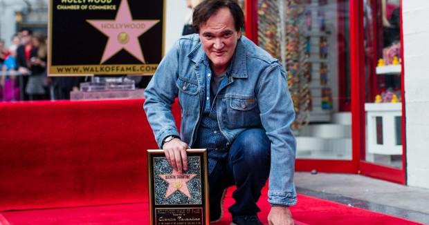 Квентин Тарантино получил звезду на голливудской Аллее славы