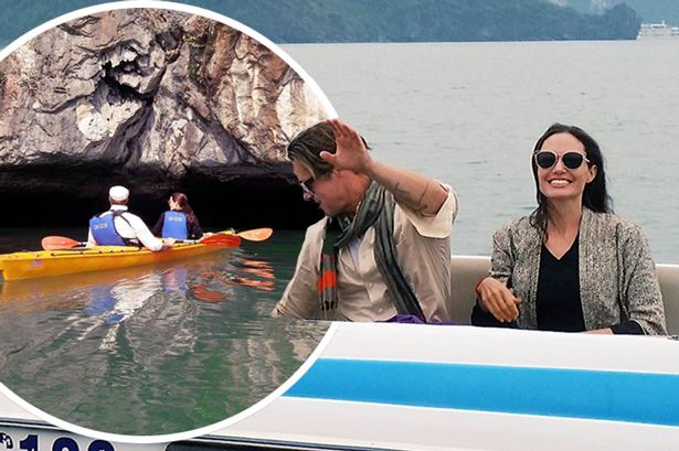 Анджелина Джоли и Брэд Питт проводят Рождество во Вьетнаме