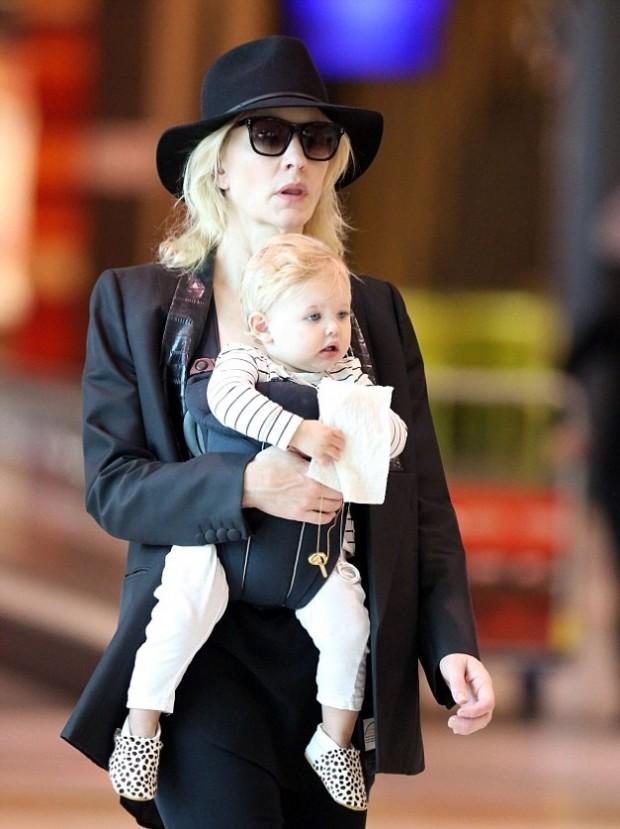 Кейт Бланшетт с дочерью Эдит
