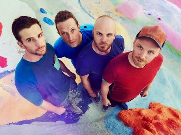 Coldplay презентовали психоделический клип