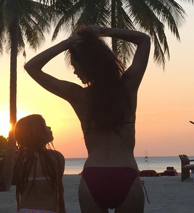Виктория Бекхэм в бикини произвела фурор в Instagram