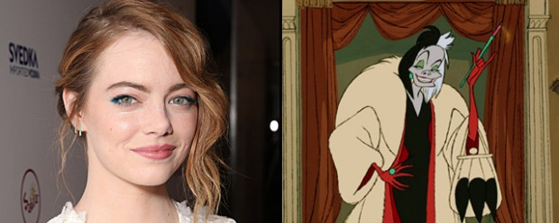 Эмма Стоун хочет сыграть Круэллу де Вил