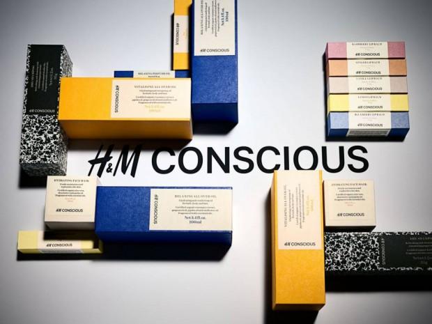H&M готовят к выпуску эко-косметику