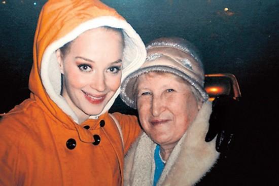 Светлана Ходченкова с любимой бабушкой