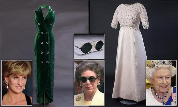 В Кенсингтонском дворце покажут королевские платья