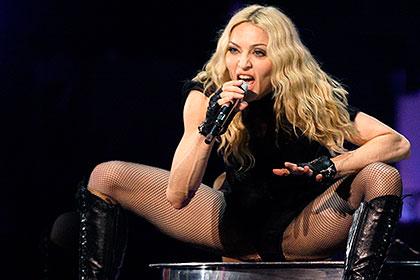 Пьяная Мадонна шокировала публику в Кентукки