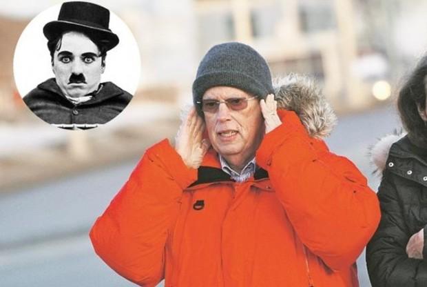 За гроб с телом Чарли Чаплина требовали 100 тысяч долларов
