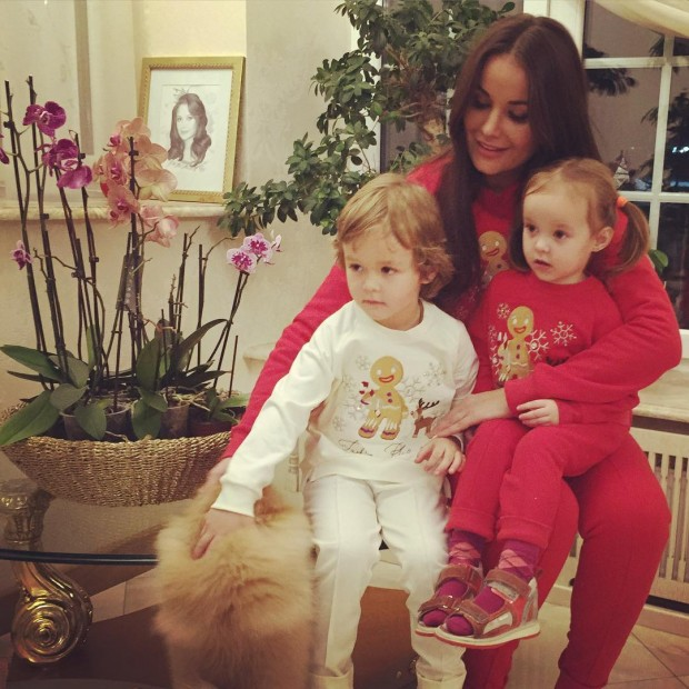 Оксана Федорова показала подросших детей