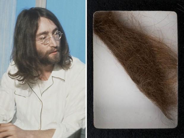Продается самый локон Джона Леннона