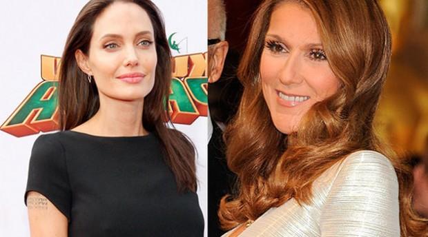 Анджелина Джоли снимет фильм о любви Селин Дион и Рене Анджелила