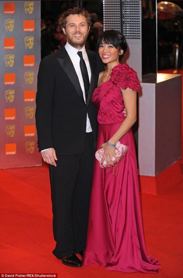Данкан Джонс с женой