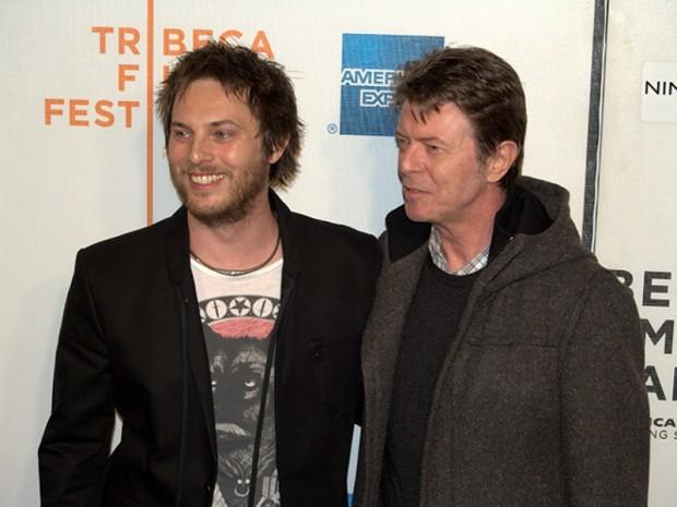 Дэвид Боуи с сыном
