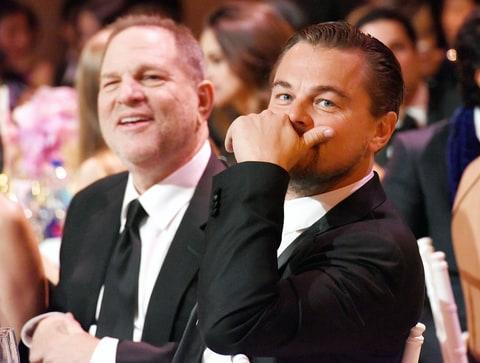 """Ди Каприо могут лишить """"Оскара"""" из-за Харви Вайнштейна"""