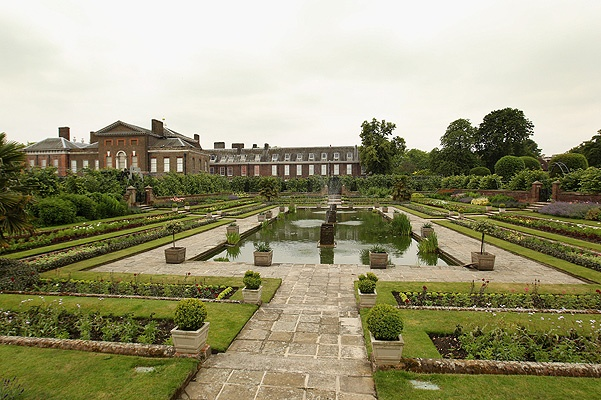 LONDON, ENGLAND - JUNE 06:  A general view of the gardens of Kensington Palace in Hyde Park on June 6, 2011 in London, England. The Duke and Duchess of Cambridge are to move their official London residence to an apartment in Kensington Palace in the next few weeks.  (Photo by Oli Scarff/Getty Images)