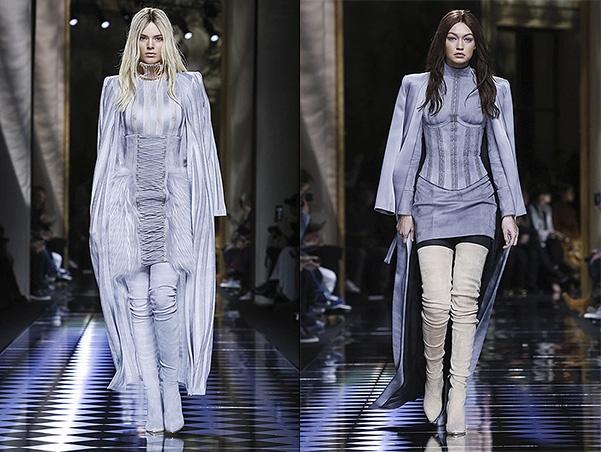 Кендалл Дженнер и Джиджи Хадид сменили цвет волос для парижской Недели высокой моды - 1