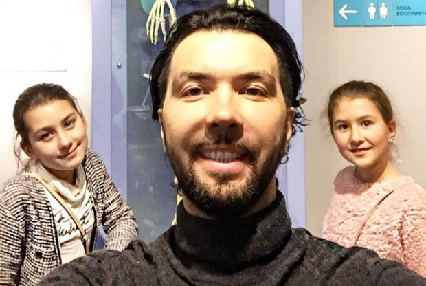 Клявер с дочкой
