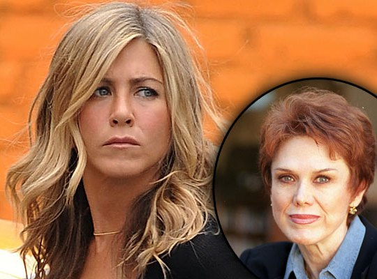 jennifer-aniston-sick-mom-nancy-dow