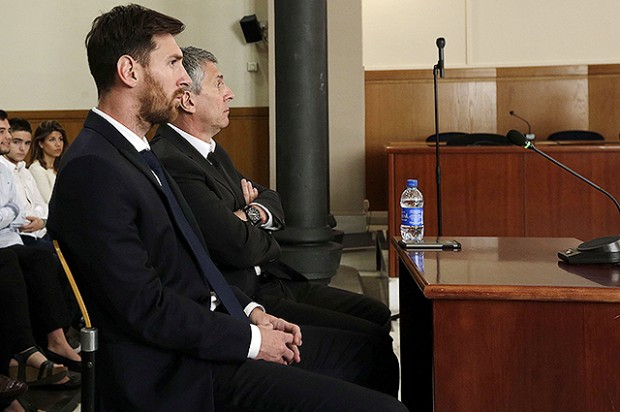Barcelona's Leo Messi Testifies In Fraud Case