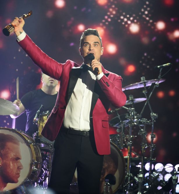 BRITs-Icon-Award-Presented-To-Robbie-Williams-Show-Backstage