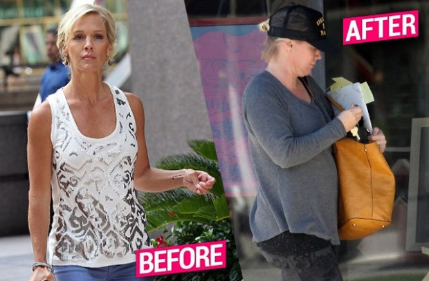 jennie-garth-weight-gain-yoga-pants