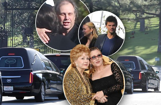 carrie-fisher-debbie-reynolds-funeral-cemetery-billie-lourd-arrivals-pp