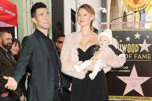Adam Levine Honored With Star On The Hollywood Walk Of Fame
