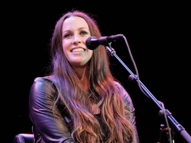 Marianne Williamson Campaign Rally With Alanis Morissette