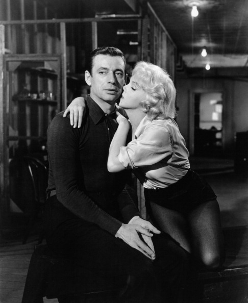 Yves Montand And Marilyn Monroe In 'Let's Make Love'