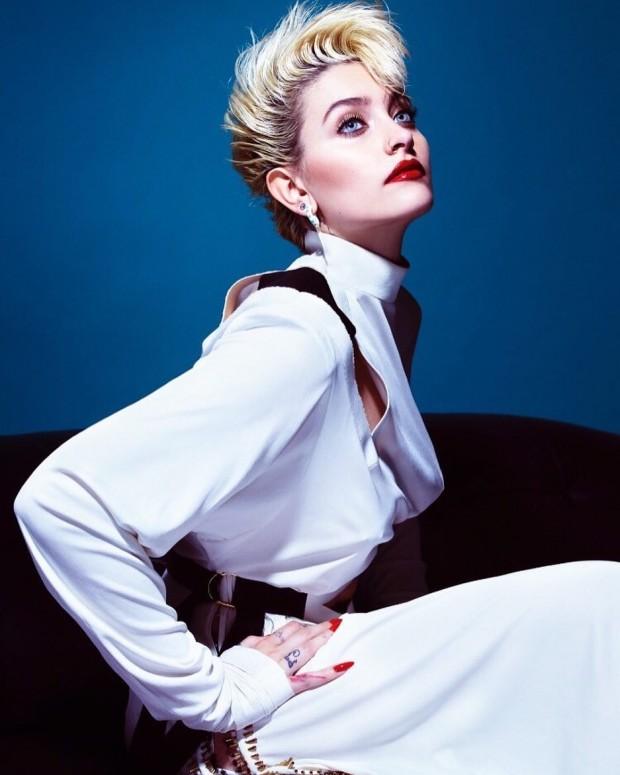 Дочь Майкла Джексона подписала контракт с самым известным модельным агентством в мире - 1