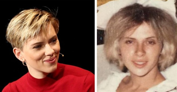 ScarJo invites 72-year-old doppelganger out for a drink