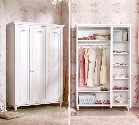 Детский шкаф для девочки