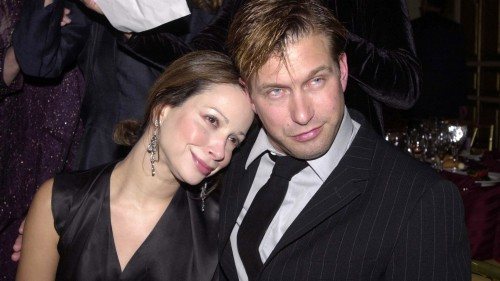 Stephen Baldwin And Wife At Gilda's Club Comedy Gala