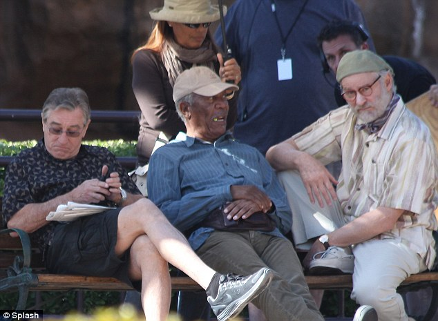 Doing the crossword: Bob had better things to do with his time than listen to Morgan's old war stories