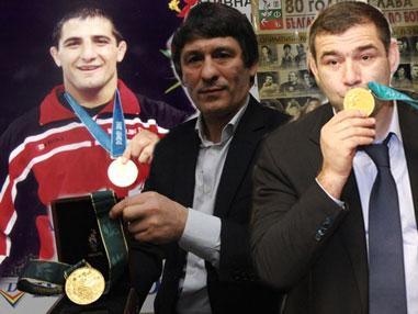 Армен Назарян, Валентин Йорданов, Сагид Муртазалиев