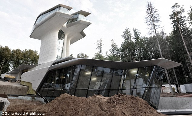 Campbell Enterprises: The house is shaped like a spaceship from TV's Star Trek