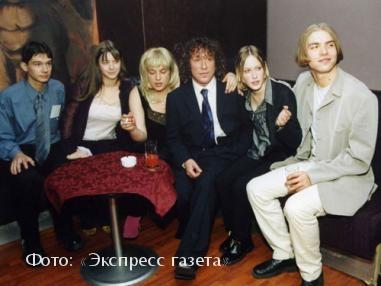 Владимир Кузьмин с детьми