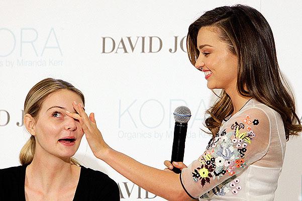 Miranda Kerr Kora Organics Media Call