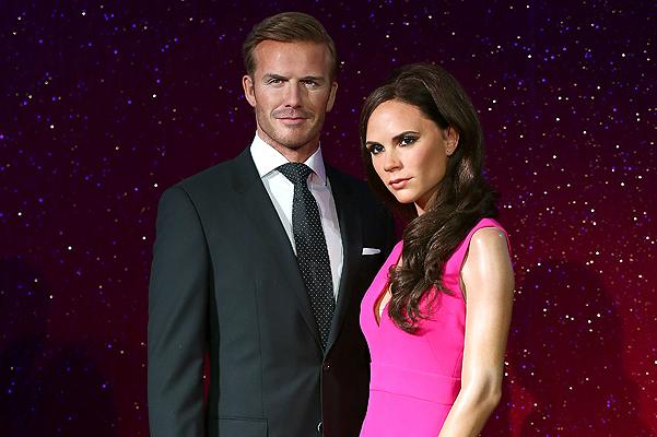 Madame Tussauds Unveil New Waxworks Of David And Victoria Beckham